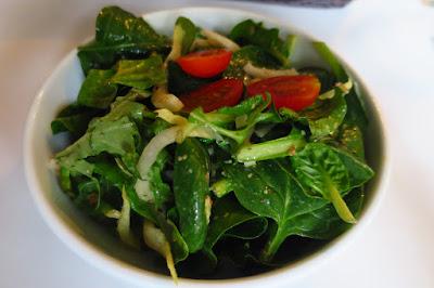 Les Bouchons, salad