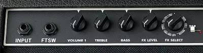 Channel 1 Fender Champion 100 XL Guitar Amplifier