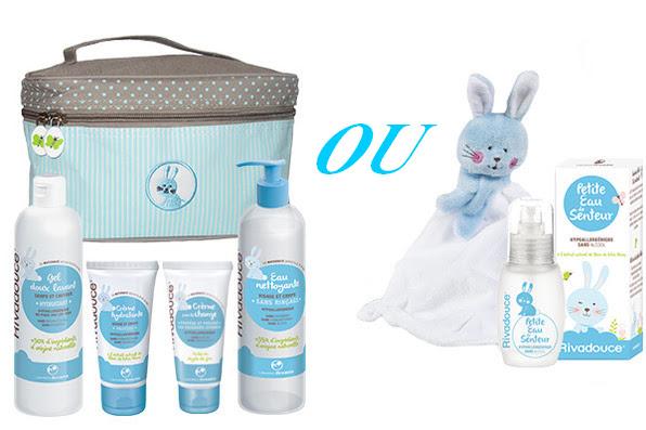 Résultat du concours Rivadouce bébé et Co-créatrices - Les Mousquetettes
