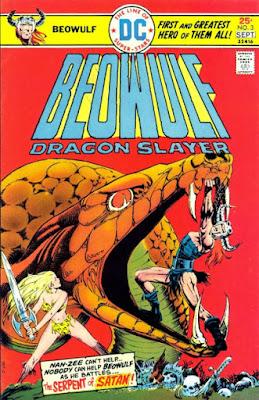 Beowulf #3, DC Comics