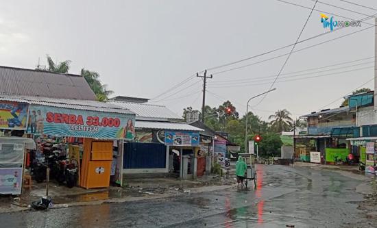 BMKG: Info Cuaca Wilayah Moga & Sekitarnya, Waspadai Hujan Sore Nanti