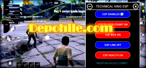 Pubg Mobile 0.18.0 Technical King ESP Hilesi Apk Rootsuz 2020