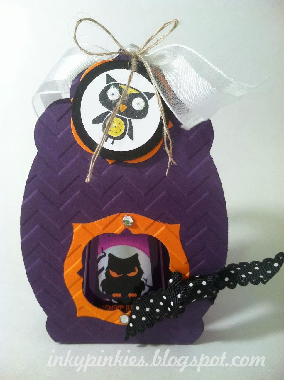 Inkypinkies Happy Halloween Hand Sanitizer Holders For