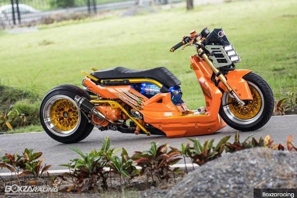 Modifikasi Honda Zoomer X Karya Anak bangsa