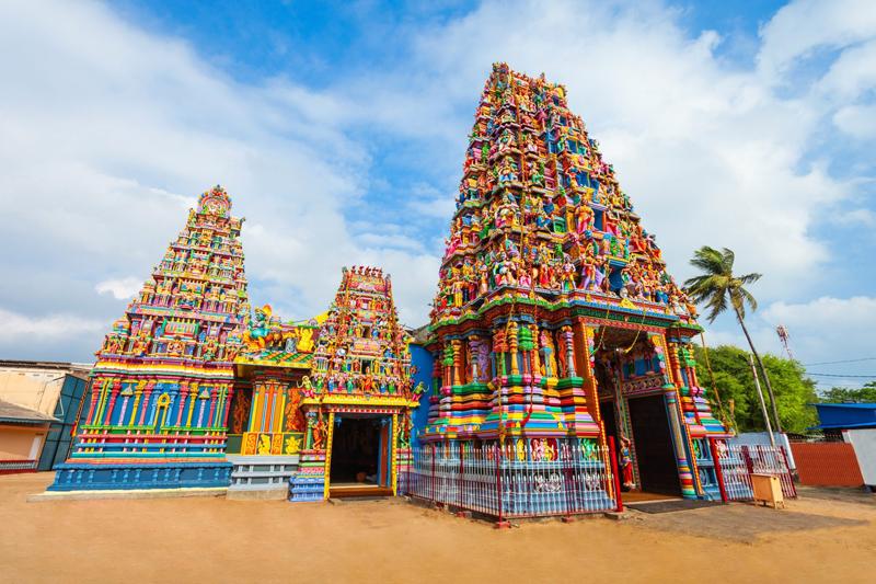 Sri Pathrakali Amman à Trincomalee au Sri Lanka