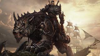 Warrior ready for battle