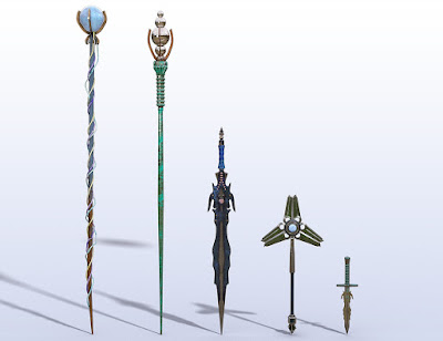 Magical Weapons Set