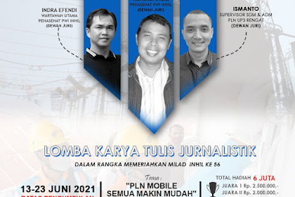 Gandeng PLN, PWI Inhil Gelar Lomba Jurnalistik Berhadiah Jutaan Rupiah