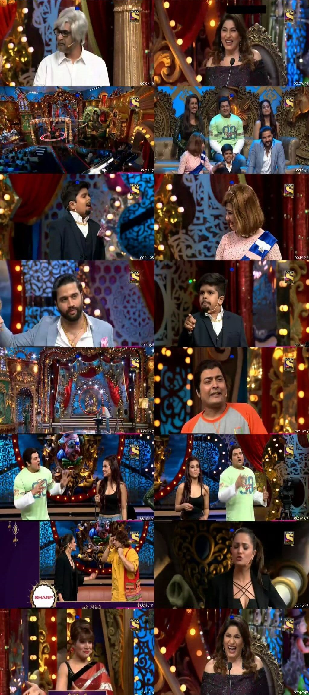 Screen Shot Of Comedy Circus 11th November 2018 Episode 18 300MB Watch Online