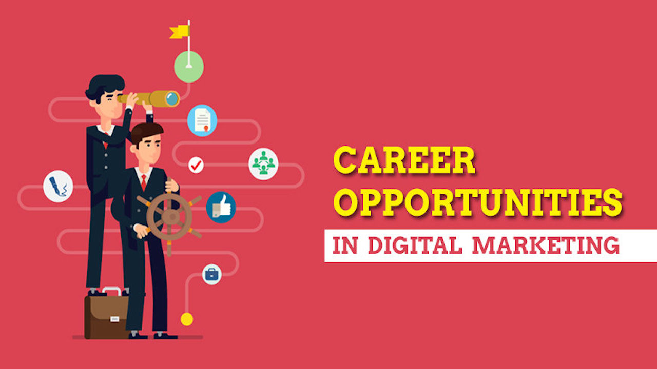 career options in Digital Marketing