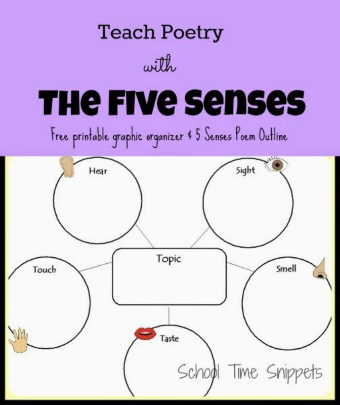 write a 5 senses poem