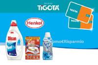 """Concorso """"Prova a vincere con Henkel - Novembre 2020"""" : in palio 1300 Gift Card Tigotà da 25 euro"""