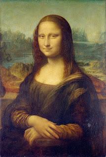 Mona Lisa, by Leonardo da Vinci.