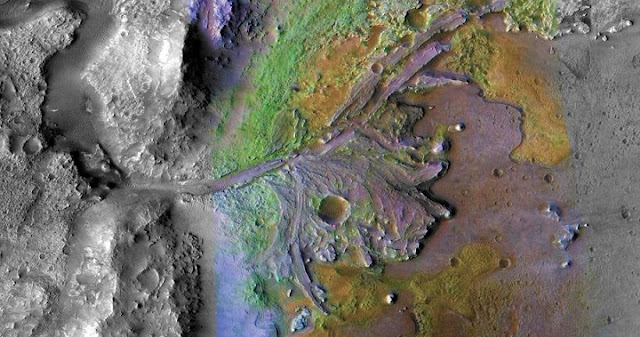 mars rocks may harbor signs of life