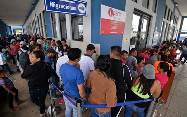 LATINOAMÉRICA: Perú impidió el ingreso a su territorio de 97 venezolanos que no contaban con la visa humanitaria.