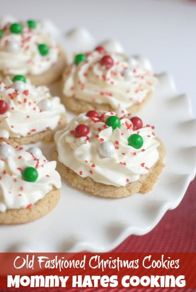 Old fashioned Christmas cookie recipe