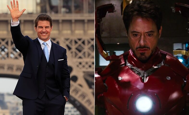 TOM CRUISE (Iron Man)