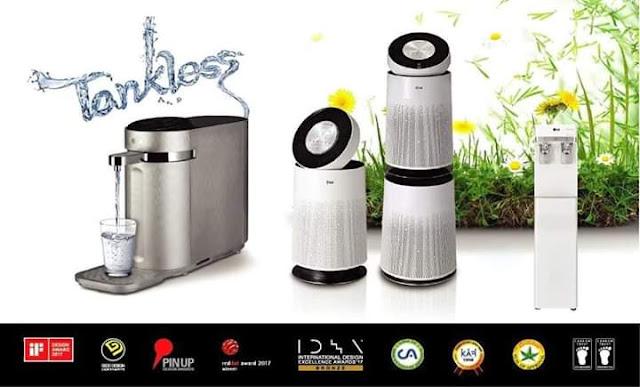 LG Buat Promosi Penapis Air dan Udara Istimewa Bulan Ogos