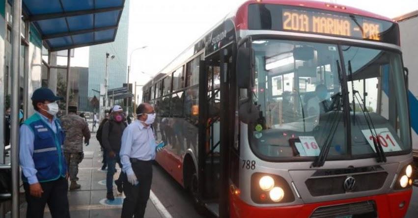Estas son las nuevas reglas que se deben cumplir en el transporte urbano para evitar la propagación del Covid-19