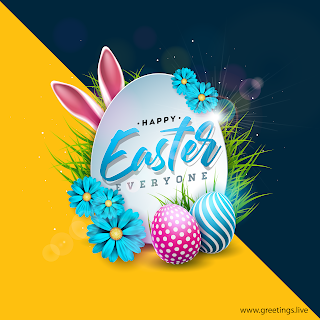 Easter images with Flowers, happy Easter pictures, Easter Eggs.