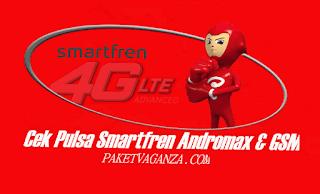Cara Cek Pulsa Smartfren Andromax dan GSM 4G Terbaru 2018