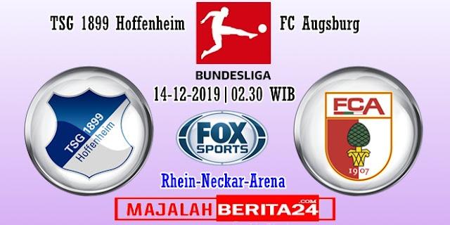 Prediksi Hoffenheim vs Augsburg — 14 Desember 2019