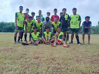 Sambut Tahun Baru  PS HW Plajan Juarai Trofeo Laskar Jepara