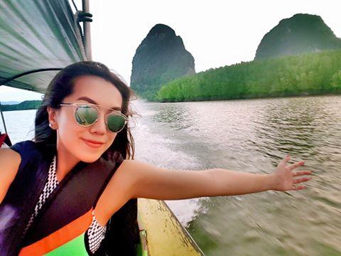 Warso Moe Oo's Holiday Trip To Phuket , Jamesbond Island Scenes