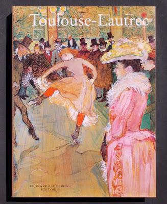 Toulouse-Lautrec: vita e opere in 3 libri - arte - biografie - mostre - annunci