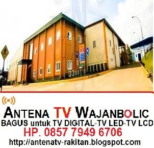 Jual ANTENA TV WAJANBOLIC  PT. NAMASINDO PLAST BATUJAJAR  PADALARANG BANDUNG