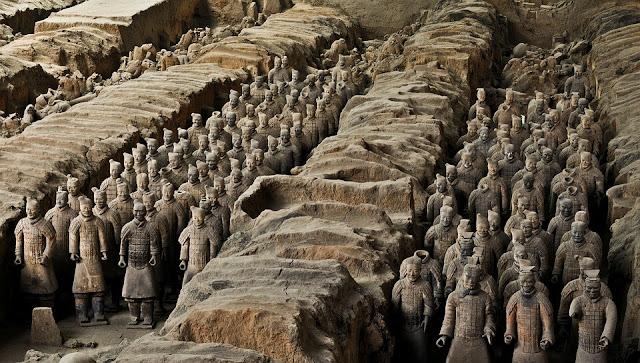 qin shi huang  qin shi huang tomb  terracotta warriors facts  mausoleum of the first qin emperor  terracotta warriors for sale  terracotta army china  terracotta army location  mount li