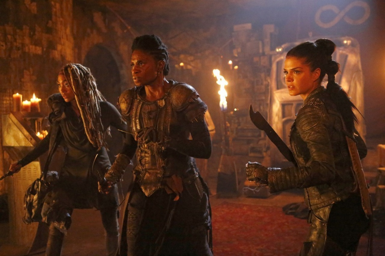 Escena de 'The 100', episodio 4x03