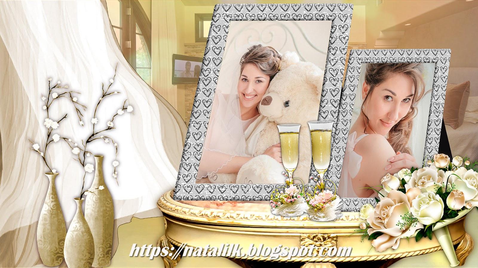Слайд шоу из фотографий на свадьбу дочери то