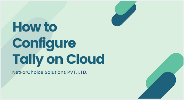 configure tally on cloud