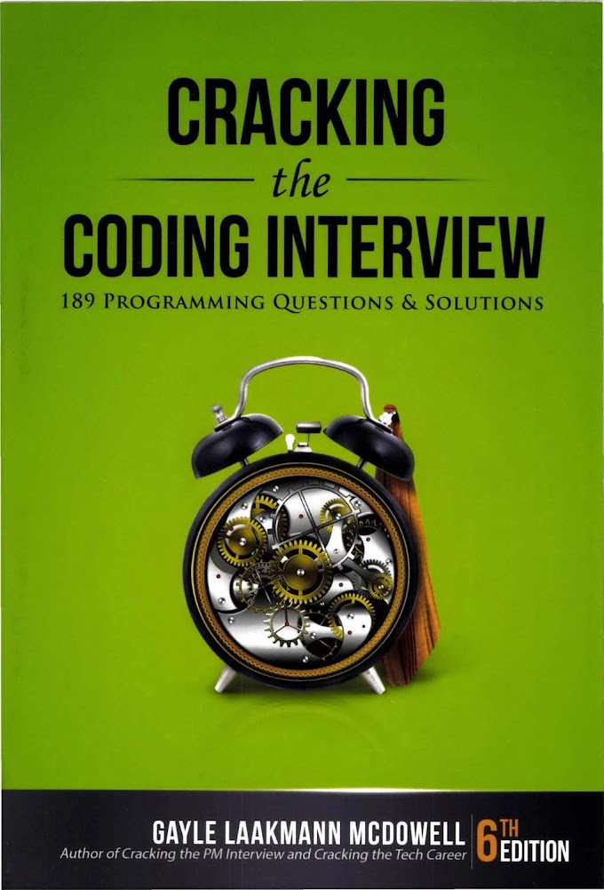 Cracking the Coding Interview, Sixth Edition
