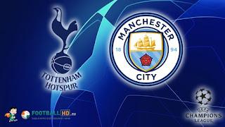 Тоттенхэм Хотспур – Манчестер Сити смотреть онлайн бесплатно 9 апреля 2019 прямая трансляция в 22:00 МСК.
