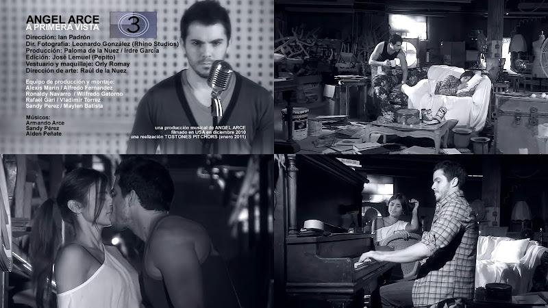 Ángel Arce - ¨A primera vista¨ - Videoclip - Director: Ian Padrón. Portal Del Vídeo Clip Cubano
