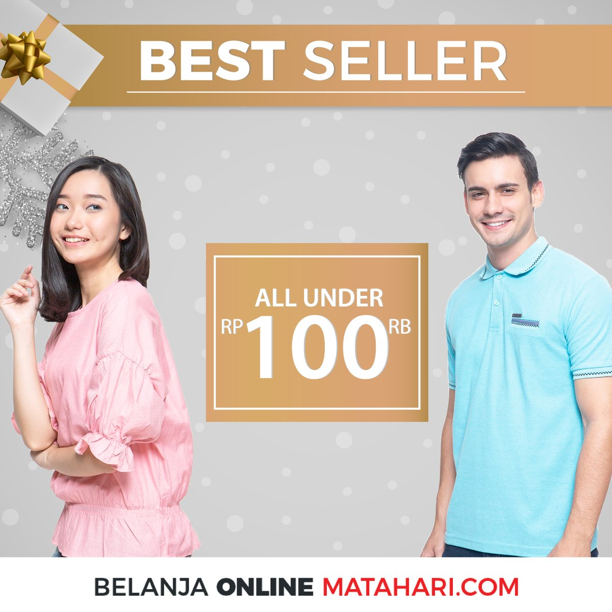 #Matahari - Promo All Under 100K & Voucher Diskon 10% Min Beli 100K