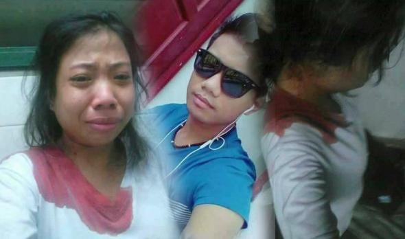 Seorang lelaki yang menuduh isterinya berlaku curang di belakangnya tergamak memukul isterinya