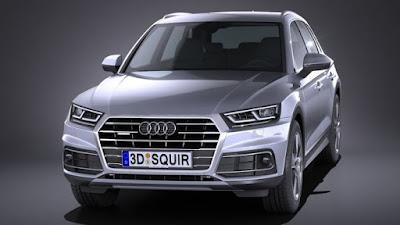 Audi Q5 SUV Silver Hd Image