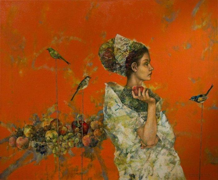 Польский художник. Halina Tymusz