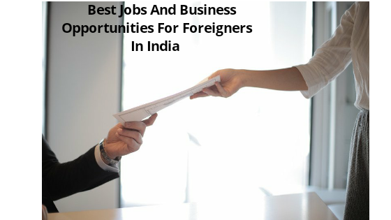 Best Jobs And Business Opportunities For Foreigners In India