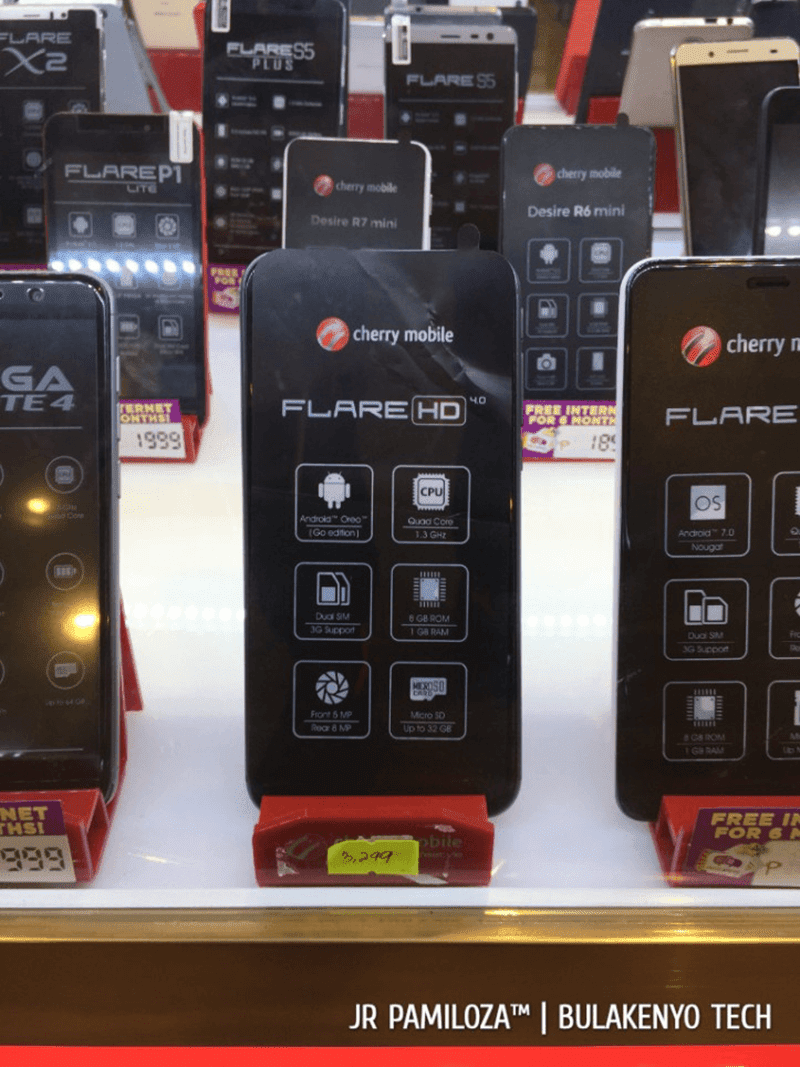 Cherry Mobile Flare HD 4