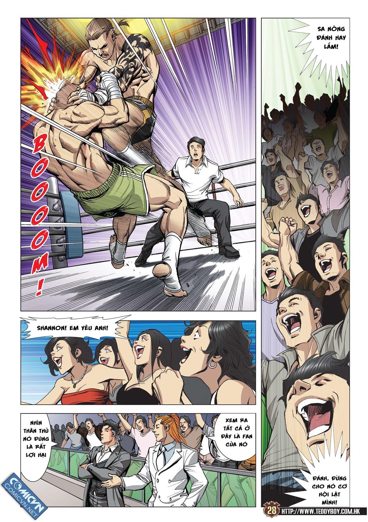 Người Trong Giang Hồ chapter 2113: cự tinh chi chiến trang 25