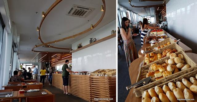 Café da manhã do Hotel Prodigy Aeroporto Santos Dumont