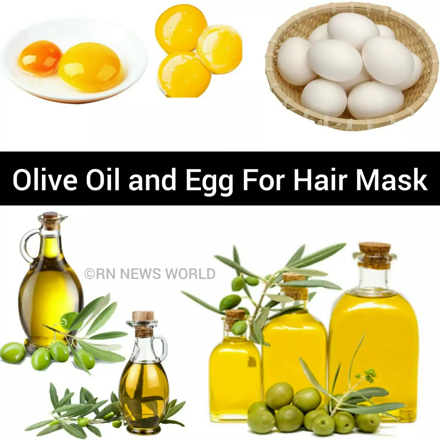 olive oil and egg hair mask benefits