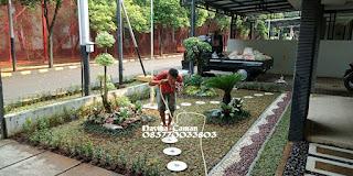 Jasa Taman Murah - Tukang Rumput Taman Murah