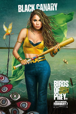 Dinah Lance Birds of Prey poster