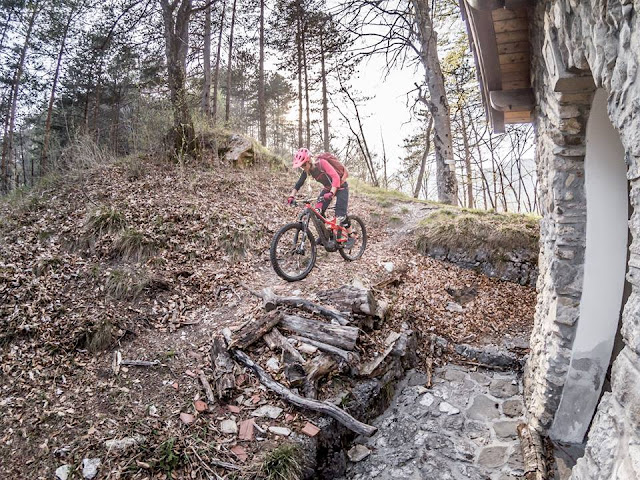 Trail Abfahrt