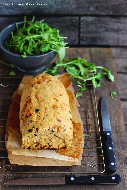 polpettone di tonno pane olive e ricotta